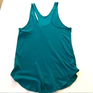 PINK Victoria's Secret Tops - Pure Barre Meet Me at the Barre Turquoise Tank Top